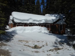 My cabin at Tahoe. I have lots of digging to do this month.